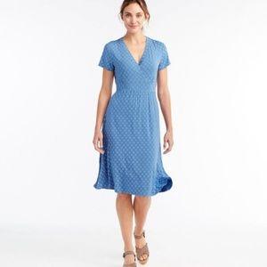 L.L.Bean Pattern Dress